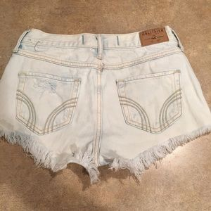 Women's distressed Hollister shorts size 26